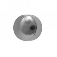 Серьги из стали без покрытия большие шарики для прокола ушей