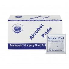 Спиртовые антибактериальные салфетки упаковка 100 штук Splus